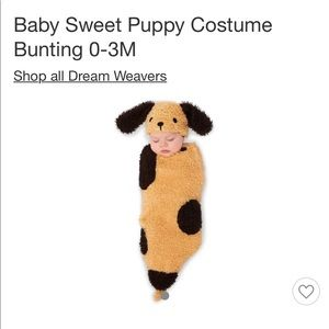 Other - Puppy dog costume bunting for baby 0-3 months
